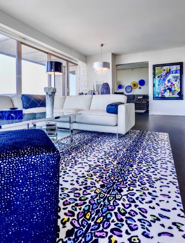 Modern Living Room Decor Cobalt Blue Decor Colorful Royal Blue Sofa Livingroomdecor Blue Living Room Decor Blue Living Room Luxury Living Room Decor
