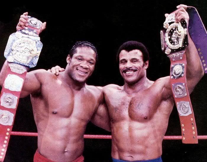 Rocky Johnson e Tony Atlas