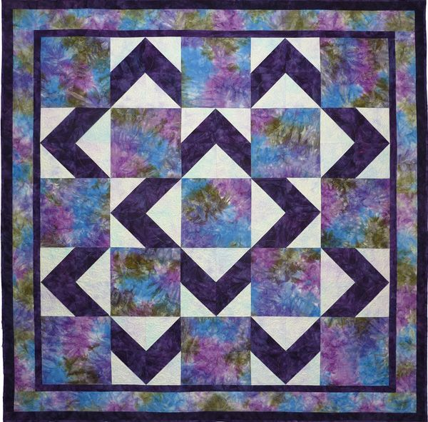 Walk About Quilt Pattern -- For