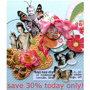 *  B is for Butterfly Art Kit Collection - Today Only - Save 30%!