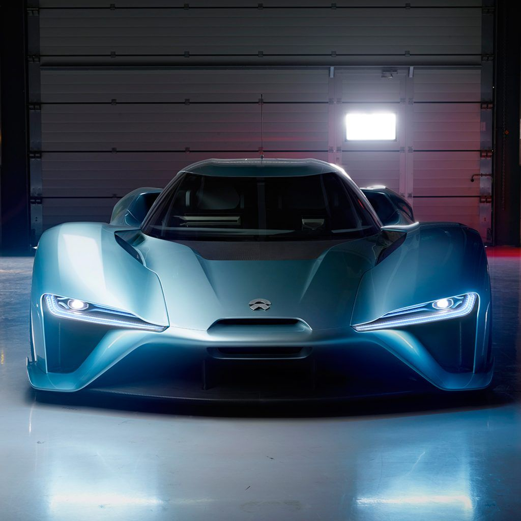 Chinese Electric Car Startup Showcased Nextev Nio Ep9 As: NextEV Unveils World's Fastest Electric Supercar