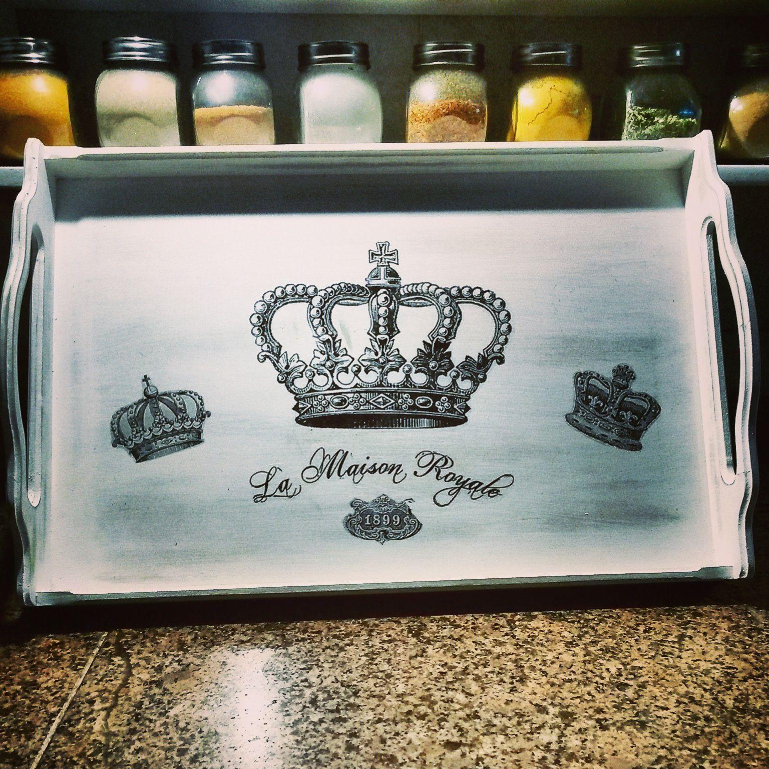 Bandeja coronas ideal para un placentero desayuno en la - Bandeja desayuno cama ...