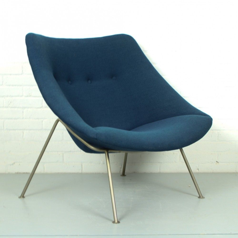 Luxe Lounge Stoel.Little Oyster Lounge Chair By Pierre Paulin For Artifort 1960s