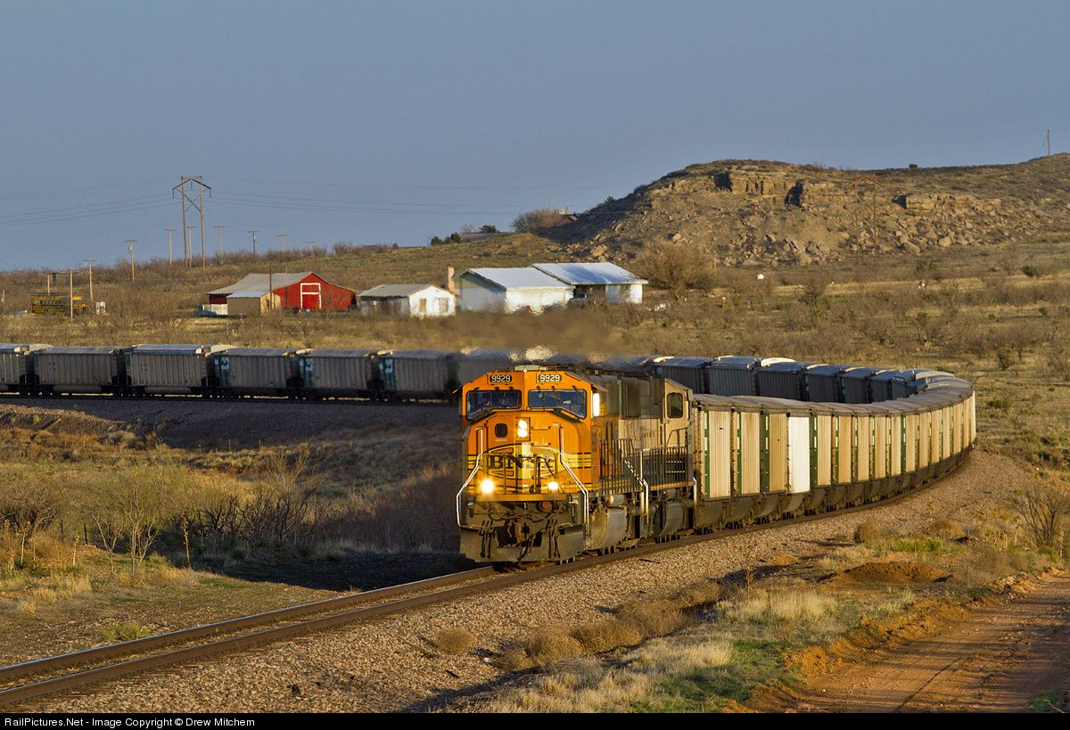 RailPictures.Net Photo: BNSF 9929 BNSF Railway EMD SD70MAC at Gentry, Texas by Drew Mitchem