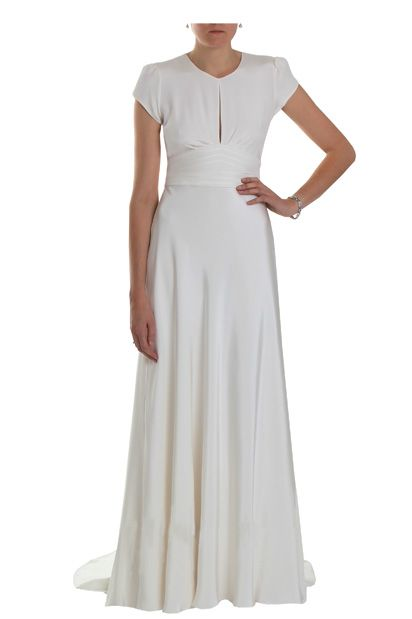 1940s Vintage Wedding Dresses | ... 1940s Vintage Silk Crepe Cap ...