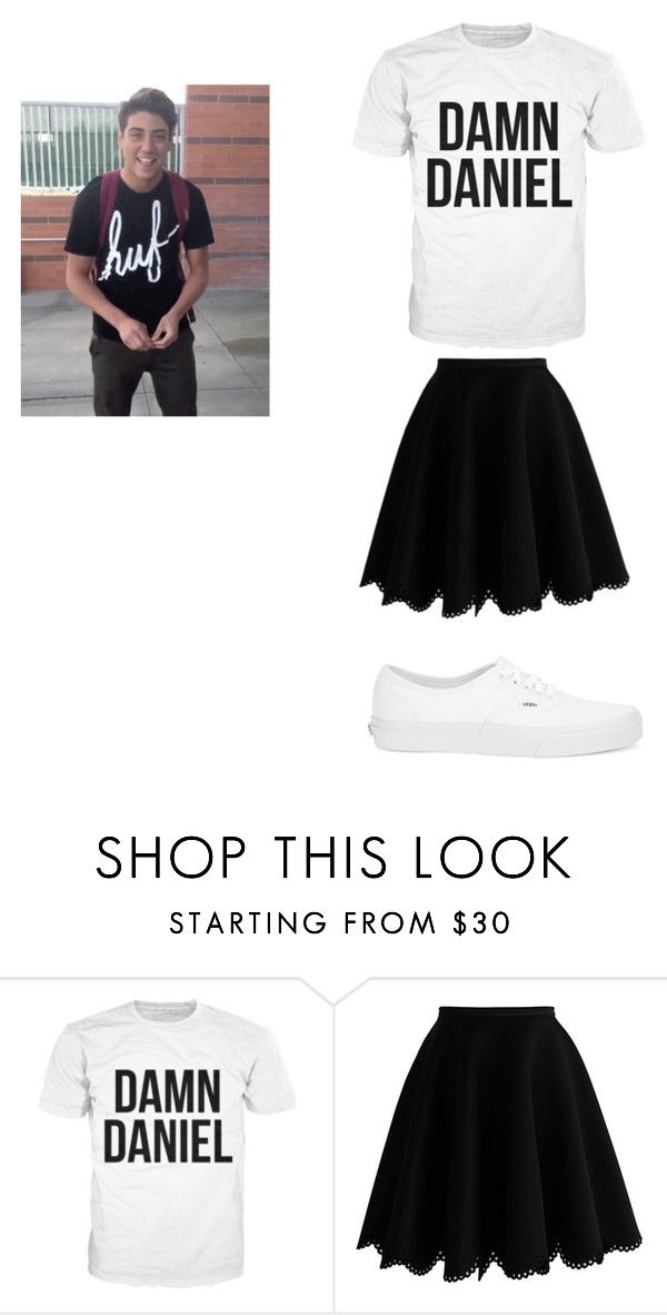 """Damn Daniel!"" by afterlight797 on Polyvore featuring Chicwish and Vans"
