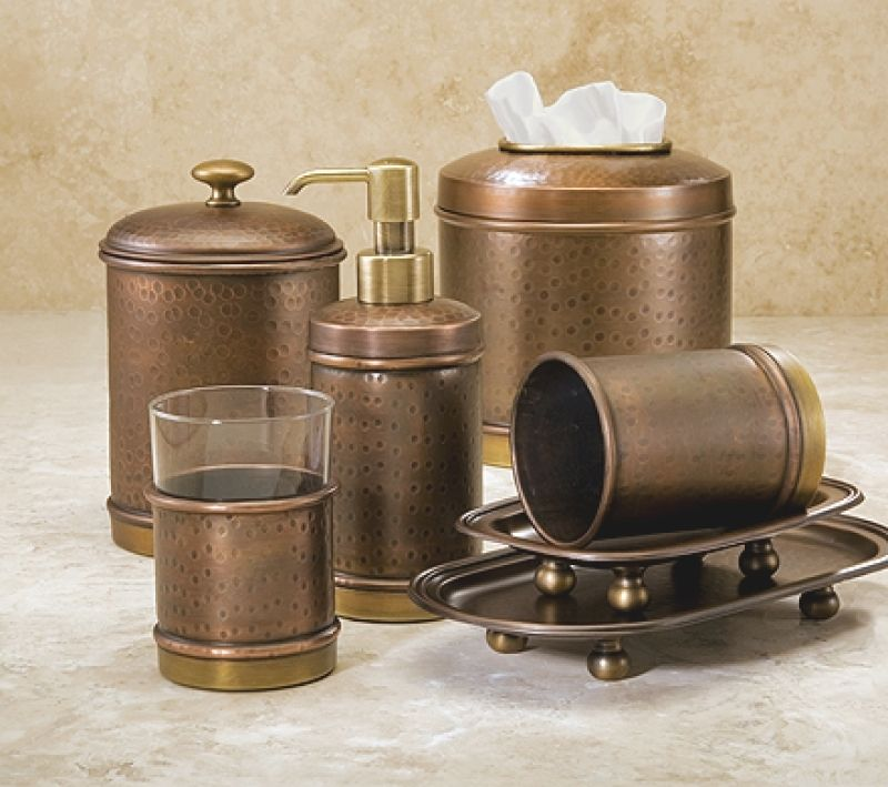 Brass Bathroom Accessories Sets Vintage Brass Bathroom Accessories