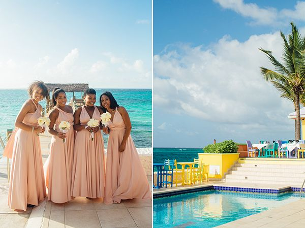 Destination Caribbean Beach Wedding Elopement In Comp Point Bahamas From Los Angeles Martina Snippet