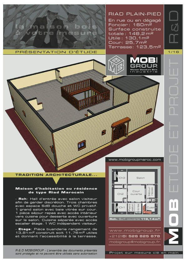Vous désirez construire votre maison, où que vous soyez, la solution