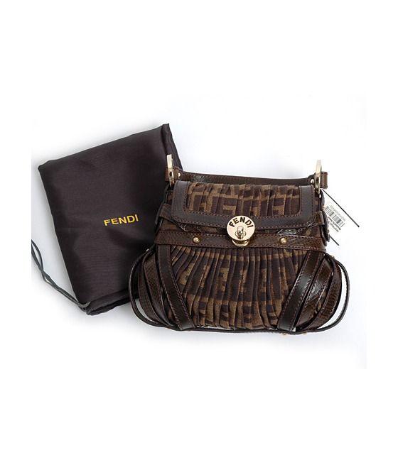 6082e7ee97 Never Used Fendi Mini Borsa Chef Zucca Purse Handbag  650.00 ...