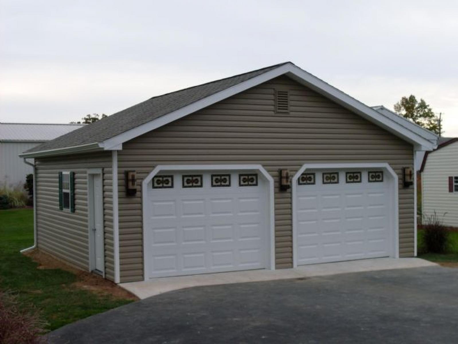24x24 2 Car Garage Pine Creek Structures Garage Design Garage Car Garage