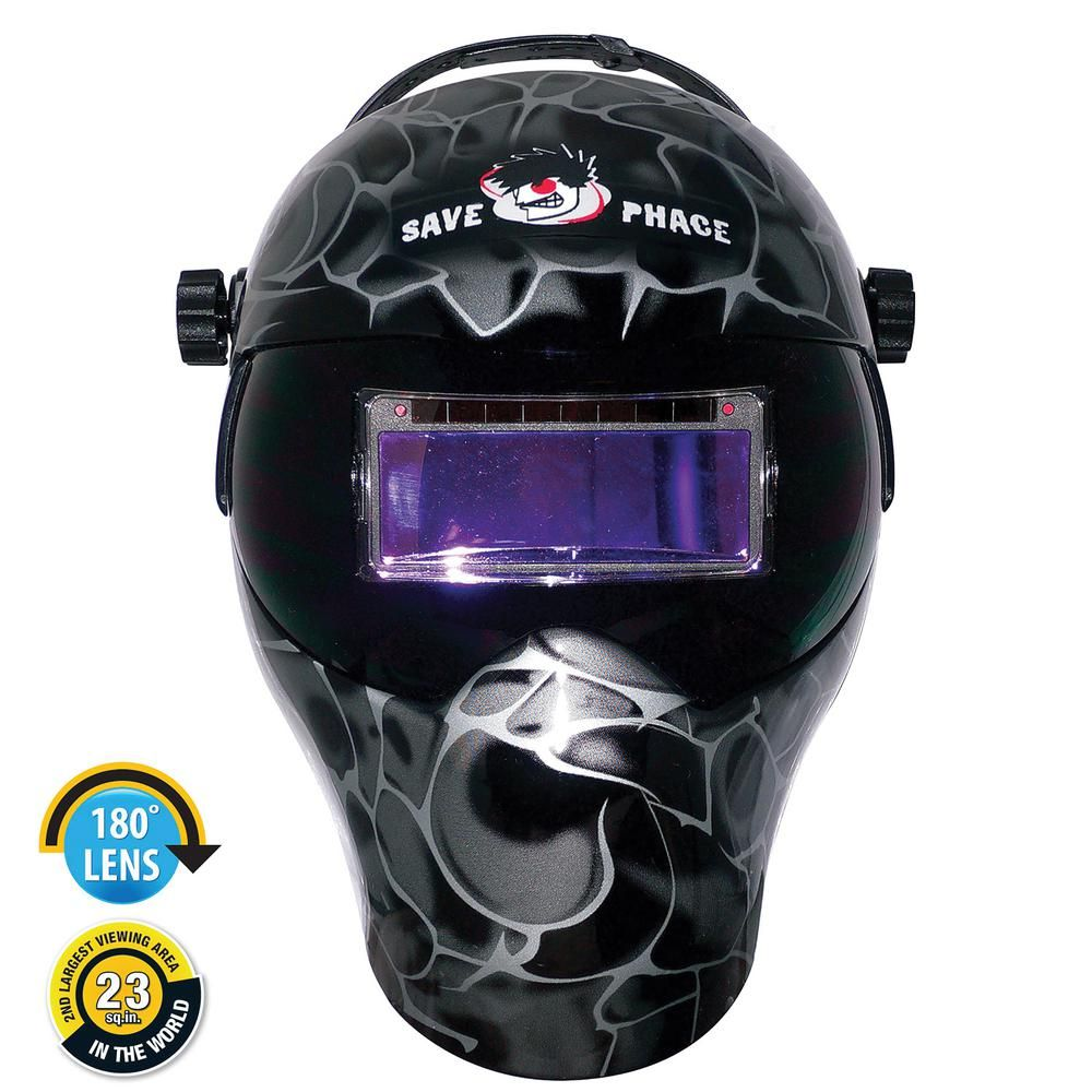 Save Phace Gen X Series Black Asp EPF Welding Helmet