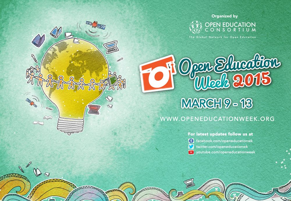 Open Education Week is a series of events to increase