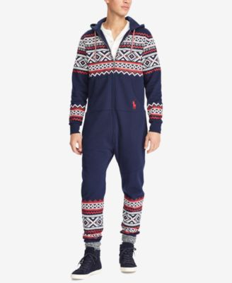 81716eb9c4269c Polo Ralph Lauren Men s Fair Isle Jumpsuit - Navy XXL   Products ...