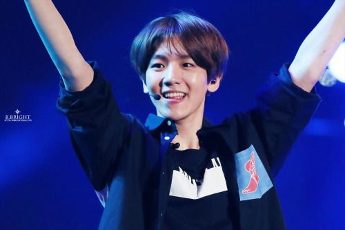 Baekhyun - 150524 2015 Lotte Duty Free Family Festival K-pop Concert  Credit: B.Bright. (2015 롯데면세점 패밀리페스티벌 케이팝 콘서트)