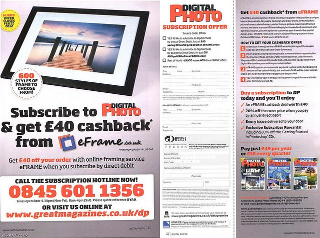FREE Frames (with Digital Photo magazine) | Free frames, Digital and ...