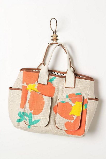 Anthropologie Blumberg Gardening Tote Bag Handbag, Miss Albright