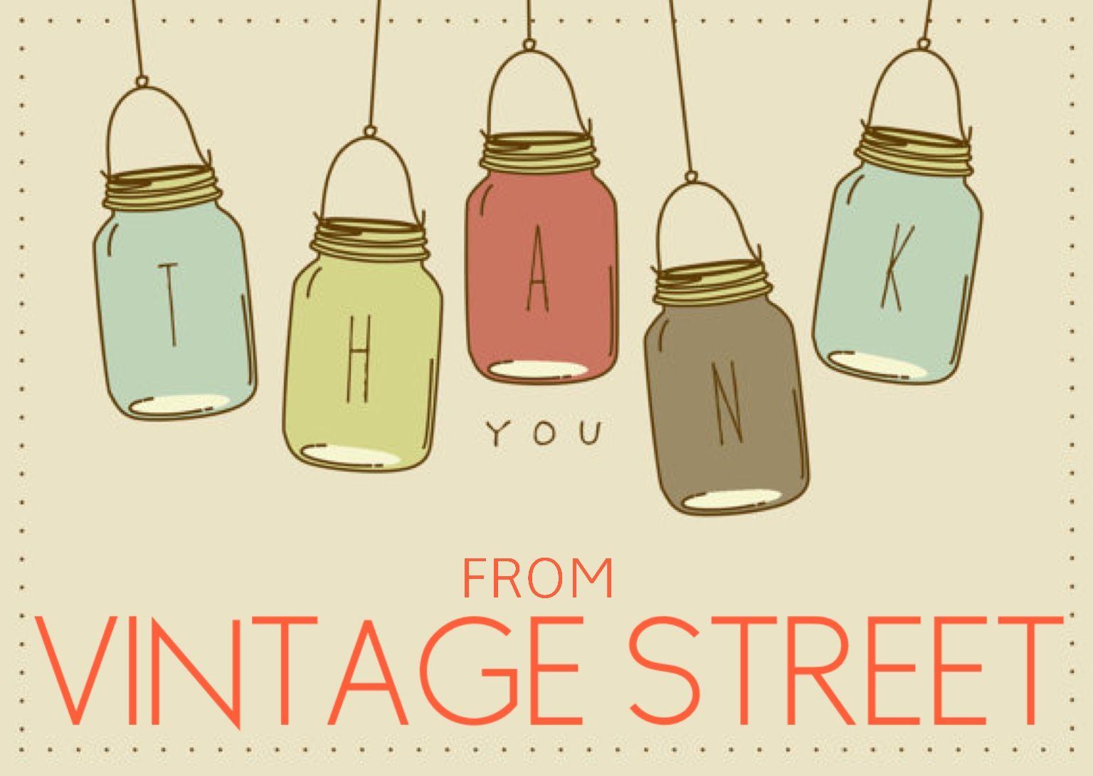 Thank you x | Diy vintage, Thank you card template, Thank ...