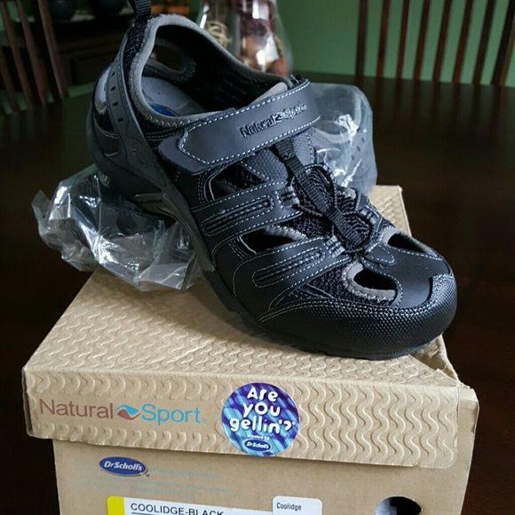 Shop Womens Dr Scholls Black size 8 Sandals at a discounted price at Poshmark Description Dr Scholls Natural Sport Gel Coolidge Shoes like new