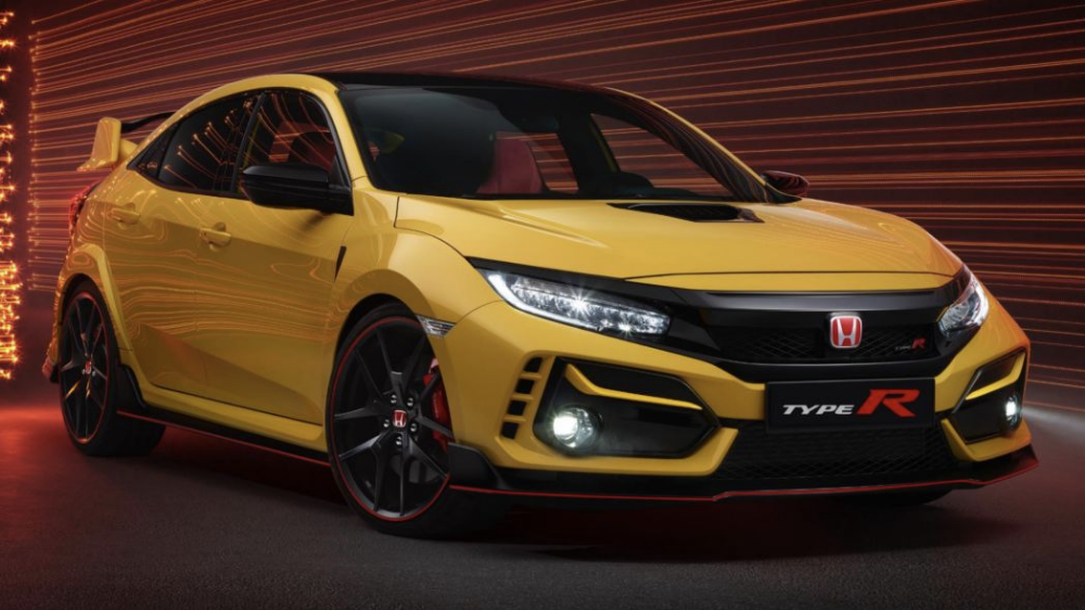 2021 Honda Civic Type R Limited Edition More Speed Less Weight Honda Civic Type R Honda Civic Honda Type R