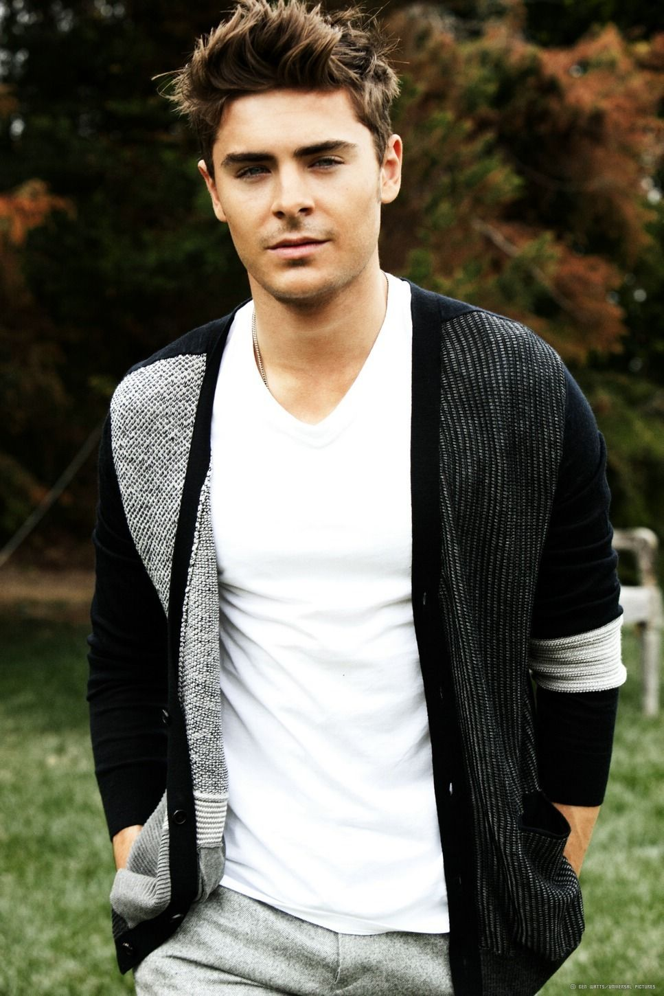 Zac Efron oh heck yes.