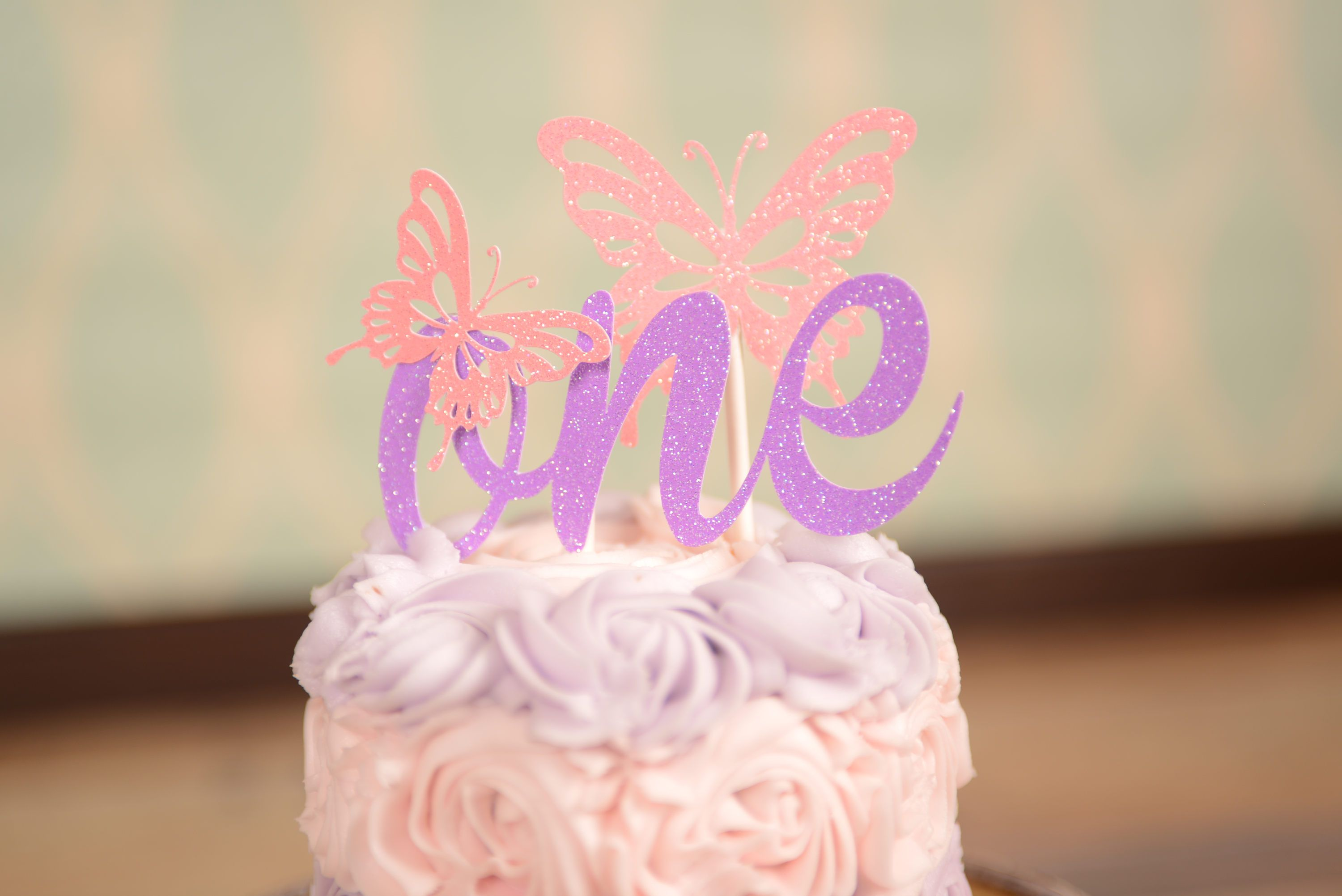Butterfly Cake Topper One Cake Topper Gold One Cake Topper Smash Cake Topper First Birth Butterfly Cake Topper Smash Cake Topper First Birthday Cake Topper