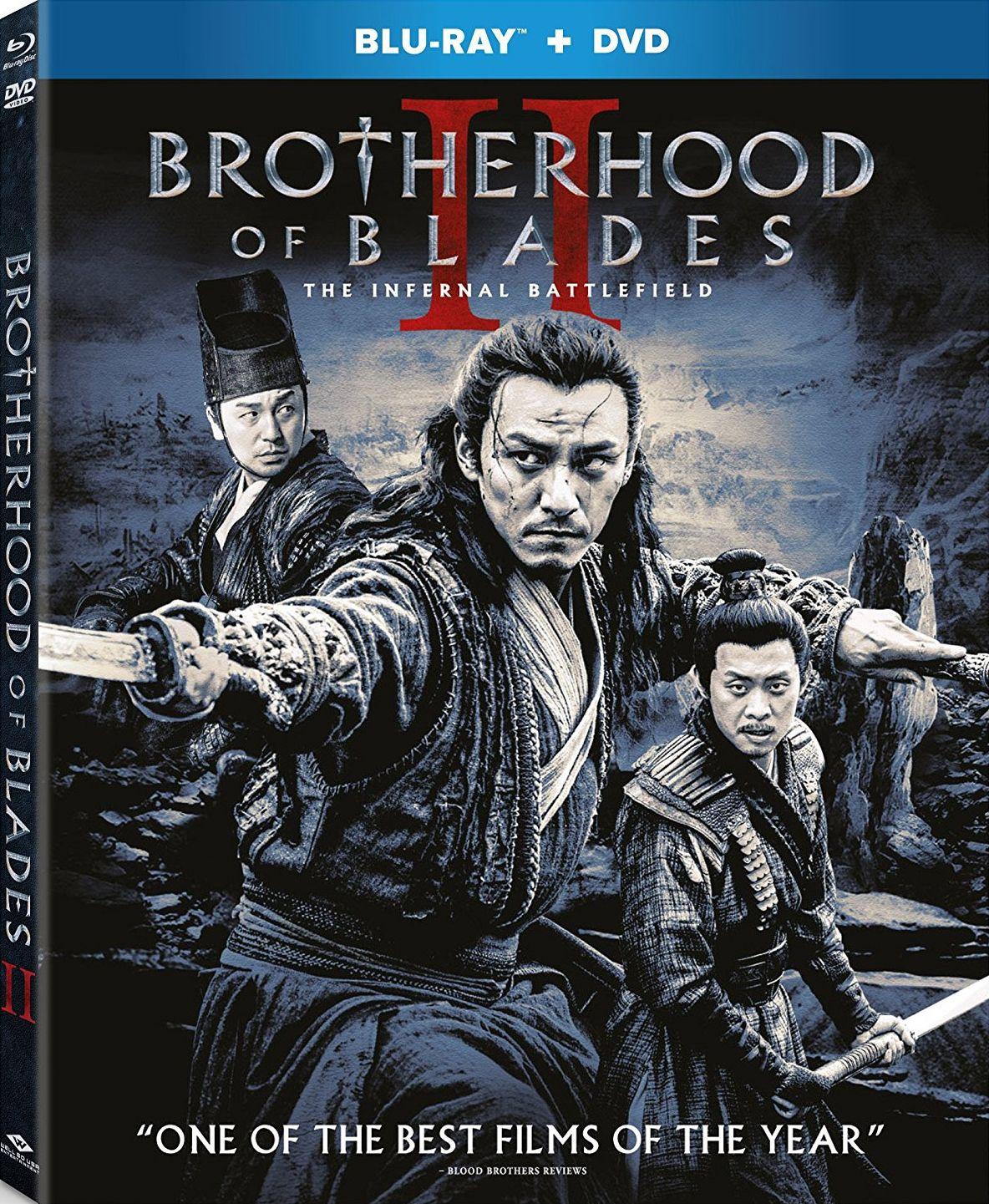 Brotherhood of blades ii the infernal battlefield bluray