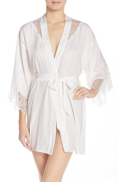 Betsey Johnson Washed Satin Short Robe available at #Nordstrom | "|380|583|?|en|2|0d4ed85b7a1b166b8d71dea3f7b4f831|False|UNLIKELY|0.375053346157074