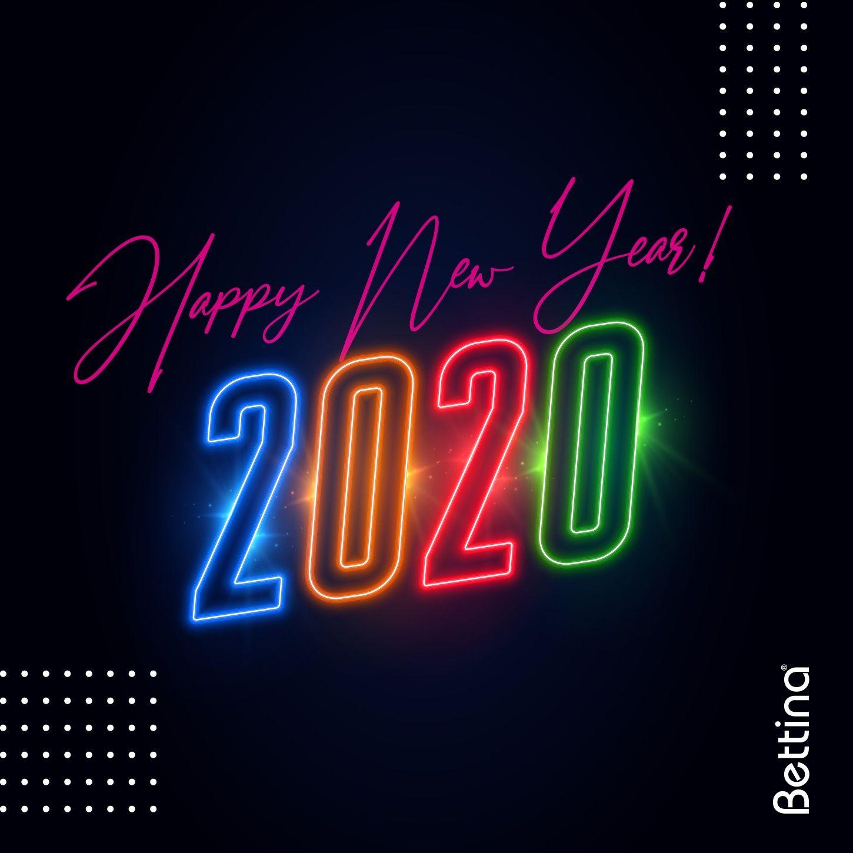 ¡Feliz año 2020! Que su año esté lleno de salud, amor y