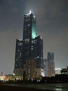 Tuntex Sky Tower. Kaohsiung, Taiwan