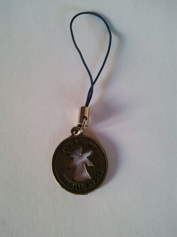 Antique Bronze coloured You are my special Angel by CraftyBunnyDog