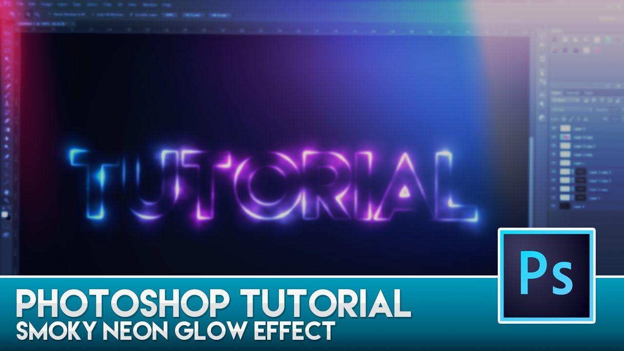 Photoshop tutorial smoky neon glow effect graphics pinterest photoshop tutorial smoky neon glow effect baditri Images