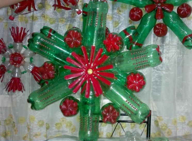 Bottle crafts bottle crafts pinterest bottle and craft for Recycled decoration crafts