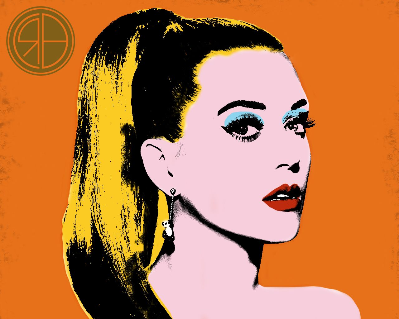 A Warhol Style Design Of Katy Perry Katyperry Art Music Popart Art Andywarhol Pop Art