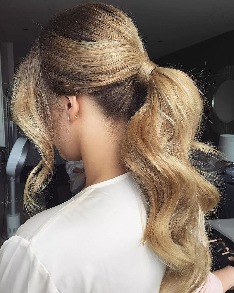 32 sexy, new ways to style a ponytail | hairstyles | curly