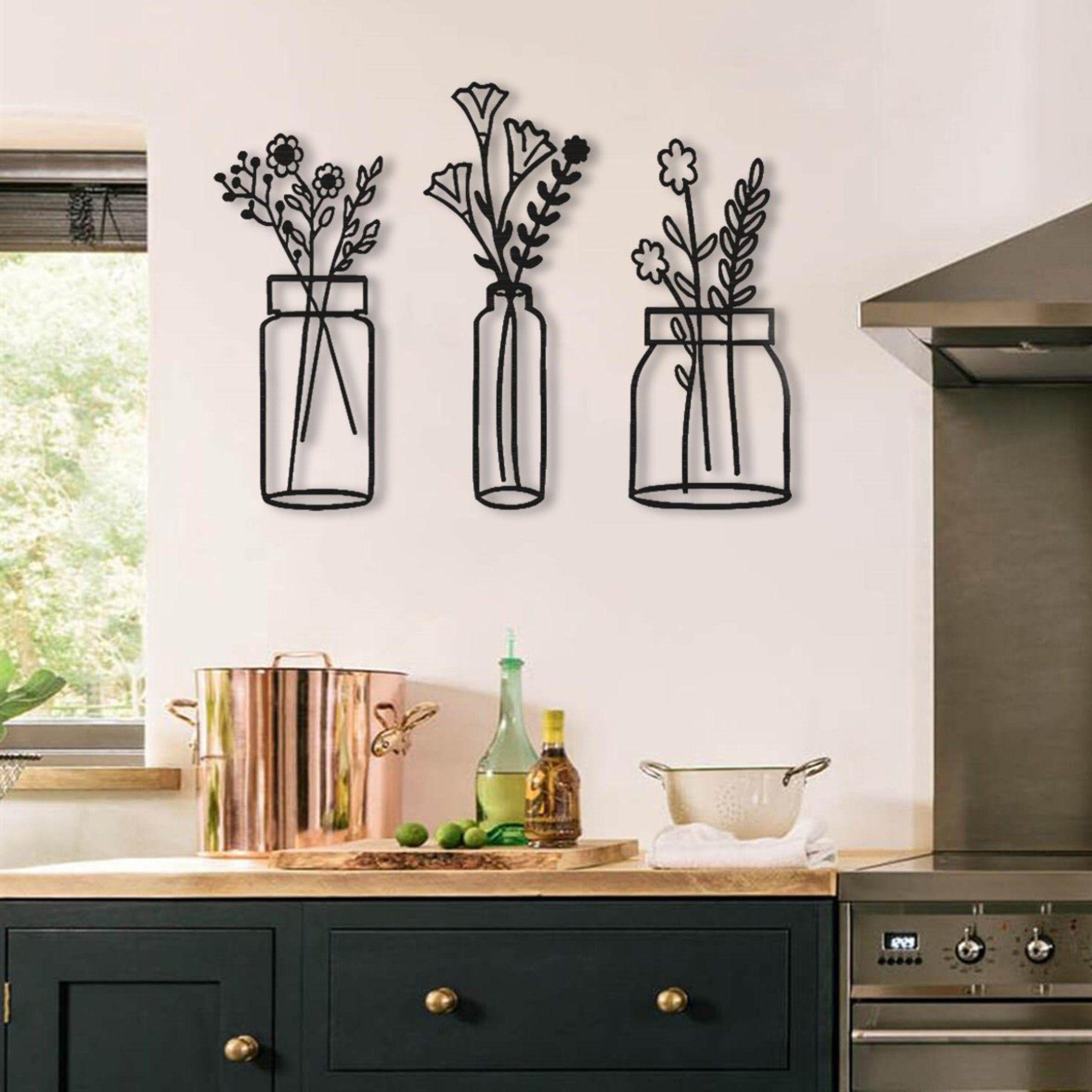 Kitchen Wall Decorations Art
