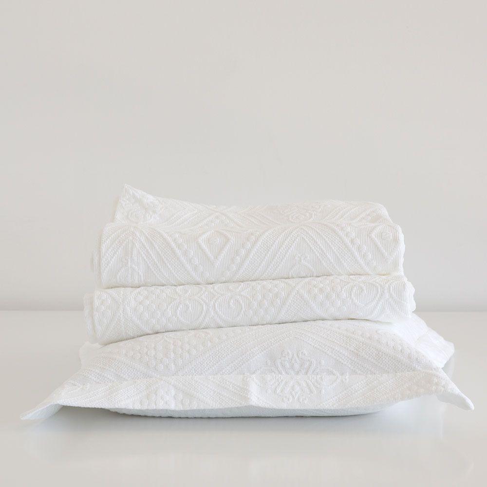 Tagesdecke Und Kissenbezug Aus Baumwolle Mit Geometrischem Motiv