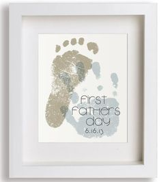 Personalized fathers day gifts from the kids first fathers day personalized fathers day gifts from the kids first fathers day art print by niko and negle Gallery