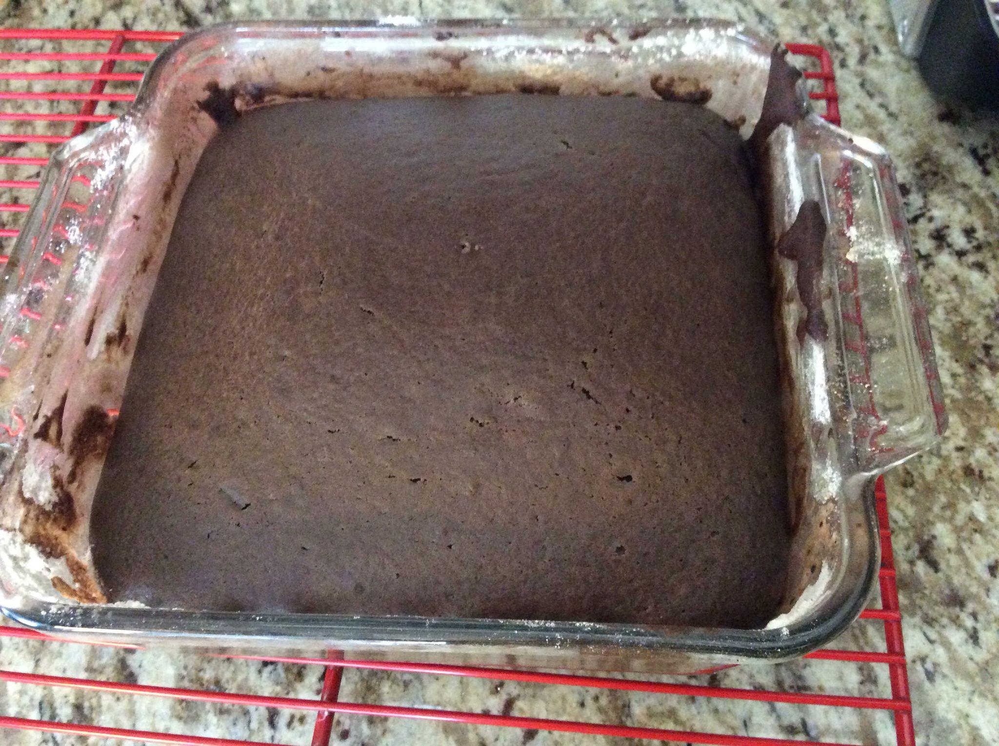 Ma fameuse recette de Ricardo :gâteau au chocolat sans salir un bol