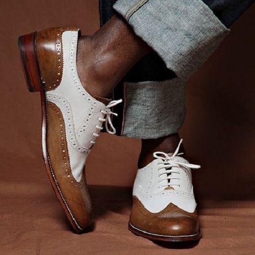Dress shoes men, Spectator shoes