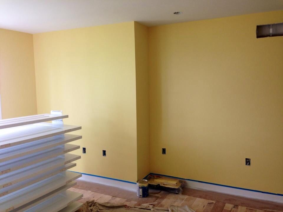 Sherwin Williams Butter Up Soft Yellow For A Bedroom Yellow Paint Color Sherwin Williams Yellow Walls Living Room Yellow Paint Colors #yellow #paint #living #room