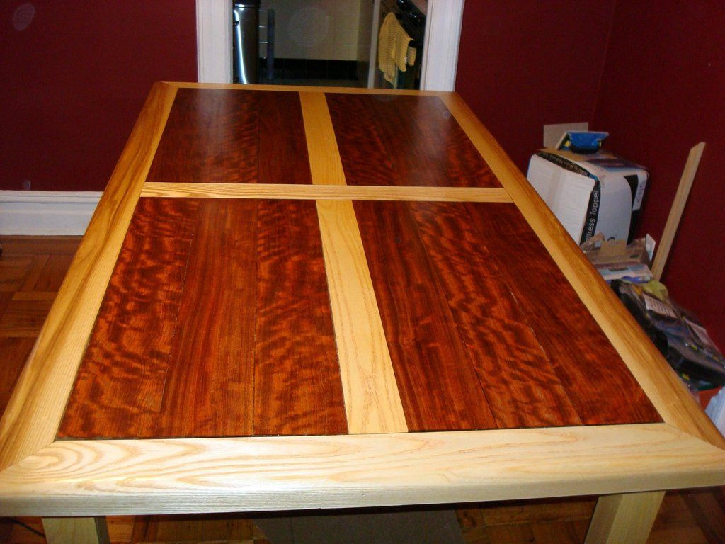 Dining Table Wood Inlay Dining Room Table Wood Dining Table