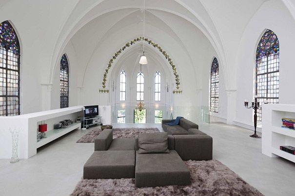 Comment Rehabiliter Deux Eglises En Superbes Habitations Modernes