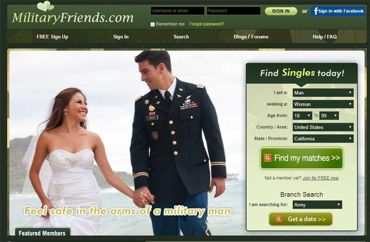 Military dating apps