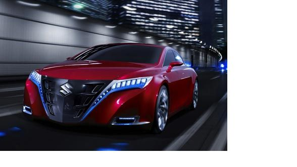 Suzuki Kizashi Concept Futuristic Cars Sweet Concepts