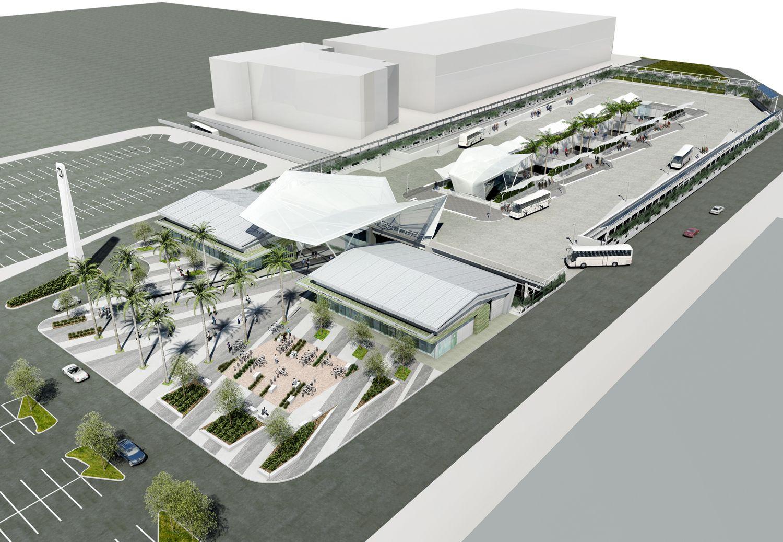 El Monte Bus Station Work Begins Next Week Bus Station Station Bus