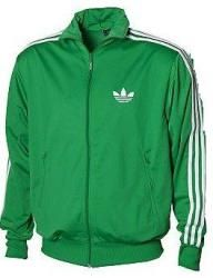 adidas firebird green jacket