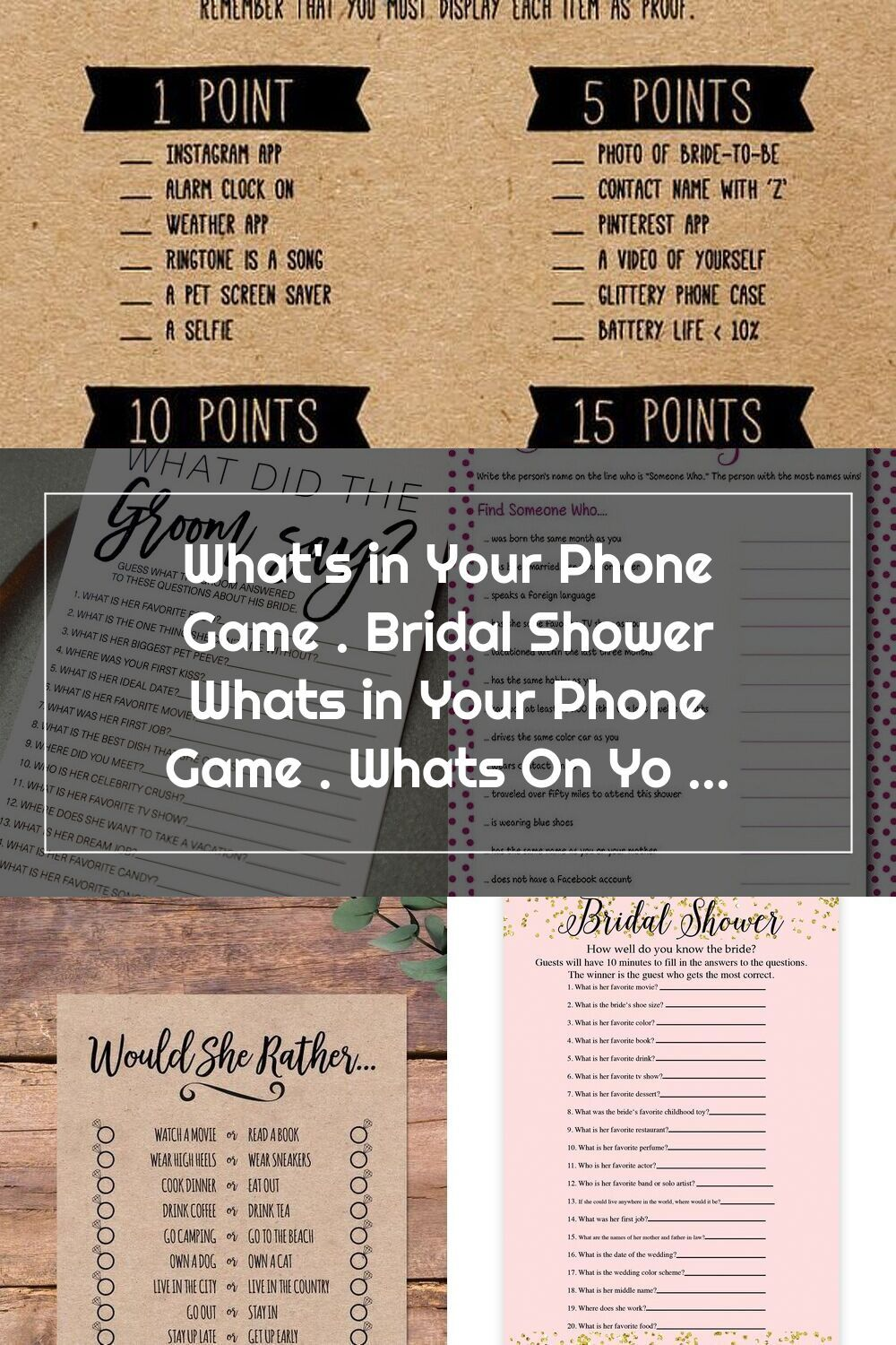 46+ Whats on your phone game questions treatment