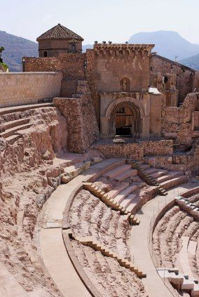 Teatro Romano Cartagena Murcia,España