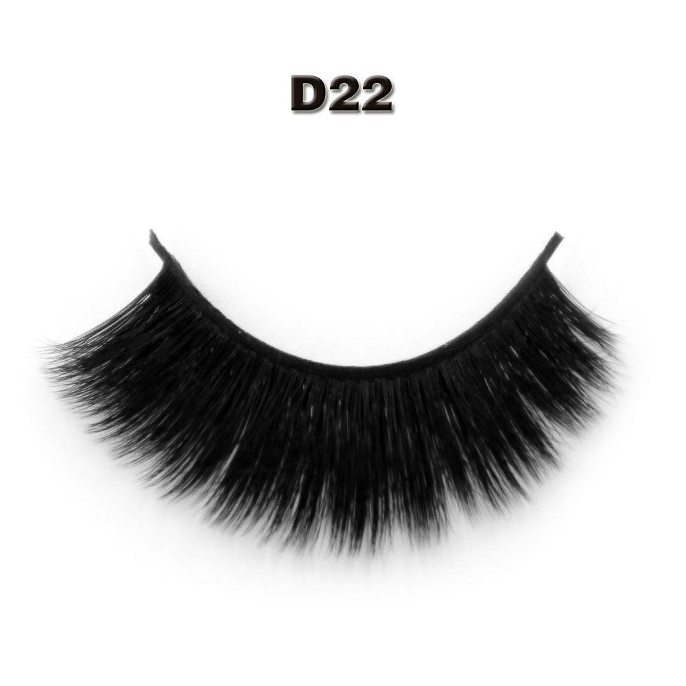 cc8cb1c7924 Fastest Shipping mink eyelash makeup 3D false eyelash extension 3D eye lash  brand false eyelash D22